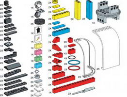 Набор LEGO 970098 Special Elements for Control Lab Set