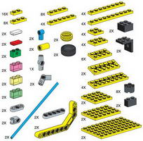 Набор LEGO 970671 Special Elements for Cities and Transportation Set