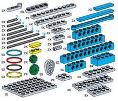 Набор LEGO 970679 Special Elements For Mechanical Engineering Set