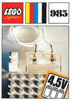 Набор LEGO 985 Lighting Device Parts Pack