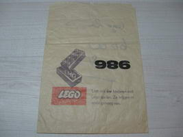 Набор LEGO 986 One Light Bulb