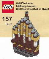 Набор LEGO Frankfurt LEGO Store Grand Opening Exclusive Set, MyZeil, Frankfurt, Germany