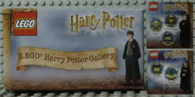 Набор LEGO HPG04 Harry Potter Gallery 4 - Tom Riddle McGonagall Dobby Goyle Hermione