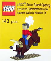 Набор LEGO Houston-2 LEGO Store Grand Opening Exclusive Set, The Galleria, Houston, TX