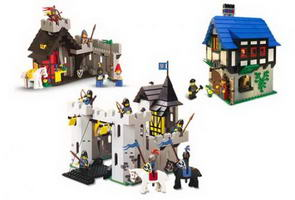 Набор LEGO K10039 LEGO Legend Castle Collection