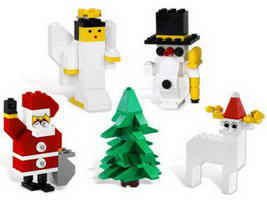 Набор LEGO K10079 Holiday Decoration II