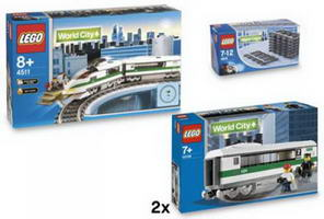 Набор LEGO K10158 Deluxe High Speed Train Collection