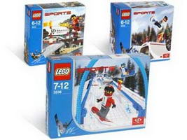 Набор LEGO K3538 Snowboard Cross Race Kit