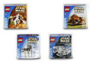 Набор LEGO K4488 Star Wars Miniatures Kit II