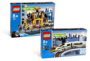 Набор LEGO K4511 Passenger Train Kit