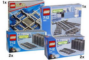 Набор LEGO K4519 Cross Track Kit