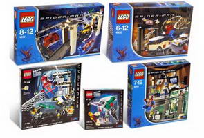 Набор LEGO K4852 Spider-Man Movie Kit