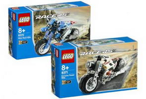 Набор LEGO K8371 Twin Powered Street Racer Kit 2