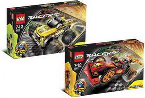 Набор LEGO K8667 Pullback Racer Collection