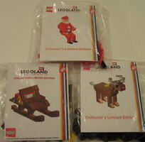 Набор LEGO KLLCA21 Santa with Reindeer and Sleigh (Legoland California)