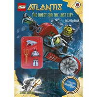 Набор LEGO LADYBIRD2 The Quest For The Lost City Activity Book