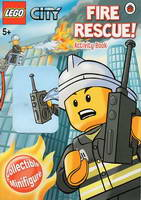 Набор LEGO LBFIRERESCUE LEGO City: Fire Rescue! - Activity Book