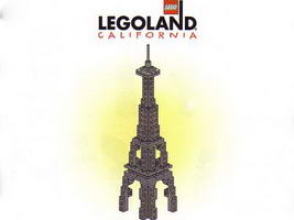 Набор LEGO LLCA25 Las Vegas Skyline, Eiffel Tower (LLCA Ambassador Pass Exclusive)