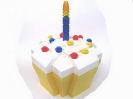 Набор LEGO LLCA51 Legoland California 10th Birthday Cupcake Box (LLCA Ambassador Pass Exclusive)