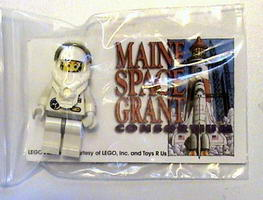 Набор LEGO Maine Maine Space Grant Consortium Promotional Astronaut Polybag