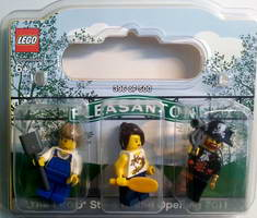 Набор LEGO Pleasanton LEGO Store Grand Opening Exclusive Set Stoneridge Mall Pleasanton CA