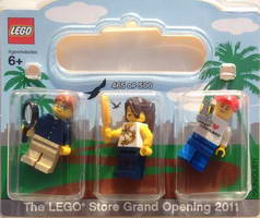 Набор LEGO SanDiego LEGO Store Grand Opening Exclusive Set Fashion Valley San Diego CA