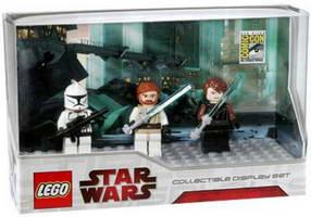 Набор LEGO comcon009 Collectible Display Set 6 - San Diego Comic-Con 2009 Exclusive