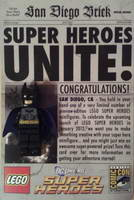 Набор LEGO comcon014 Super Heroes Unite - Batman - San Diego Comic-Con 2011 Exclusive