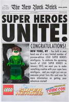 Набор LEGO comcon016 Super Heroes Unite - Green Lantern - New York Comic-Con 2011 Exclusive