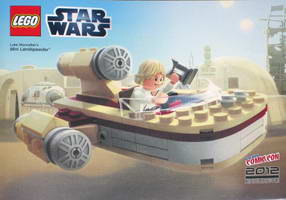 Набор LEGO comcon024 Luke Skywalker's Landspeeder - Mini - New York Comic-Con 2012 Exclusive
