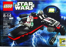 Набор LEGO comcon032 JEK-14 Mini Stealth Starfighter - San Diego Comic-Con 2013 Exclusive