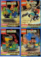 Набор LEGO kabrock Rock Raiders 4-Pack