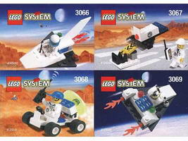 Набор LEGO kabspace Kabaya Space Port 4-Pack