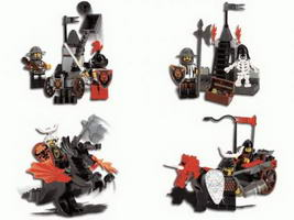 Набор LEGO kkchrome Knight's Kingdom Chrome Series (complete set)