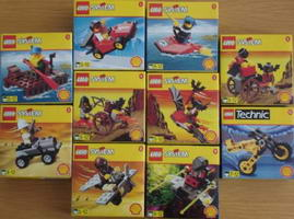 Набор LEGO shell98small Shell Town 1998 Promotional (complete set)