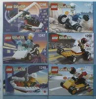 Набор LEGO shtown99small Shell Town 1999 Promotional (complete set)