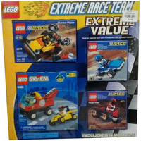 Набор LEGO 042884787424 Extreme Race Team Extreme Value Pack (1272, 1273, 6468, 6519)