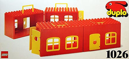 Набор LEGO 1026 Play Boxes from 2 yrs. - 2 elements