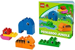 Набор LEGO 10560 Peekaboo Jungle