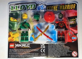 Набор LEGO 112006 Lloyd vs. Stone Warrior