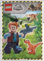 Набор LEGO 121904 Owen with Baby Raptor