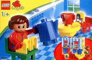 Набор LEGO 1407 Cooking with Mummy