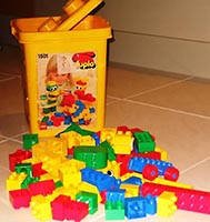 Набор LEGO 1501 Large Storage Bucket