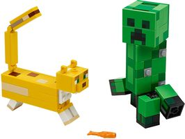 Набор LEGO 21156 BigFig Creeper and Ocelot
