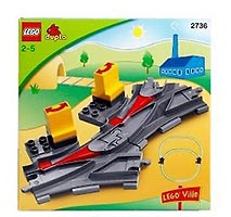 Набор LEGO 2736 Points (Switching Tracks)