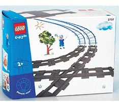 Набор LEGO 2737 Diamond Crossing and Tracks (Rails & Crossings)
