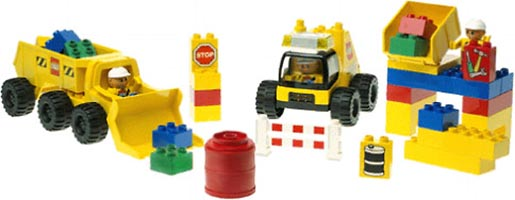 Набор LEGO 2814 Big Wheels Road Worker Set