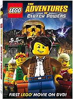 Набор LEGO 2854298 The Adventures of Clutch Powers DVD