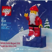 Набор LEGO 2855167 Holiday Santa Magnet 2010