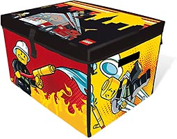 Набор LEGO 2856200 Firefighter ZipBin Large Storage Toy Box